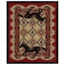 Western Throw Rugs New Rugs Cabin Place