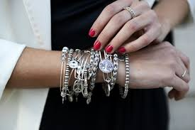 stacking bracelets stacked bracelets how to wear this trend
