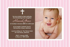 Template For Christening Invitation Card Baptism Invitations Maker For Girls Baptism Invitations