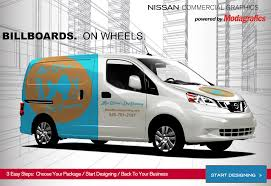 wrap your nv cargo van in your own style nissan commercial vehicles