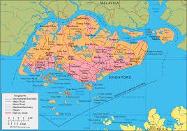 map batam singapore map and satellite image