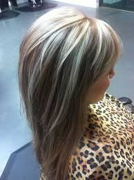 hi and low lights on layered hair dimensional blonde bpolkhair my work pinterest