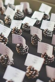 simple wedding ideas of simple and pinecone wedding ideas 33