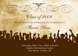 school graduation invitations to write a graduation announcement