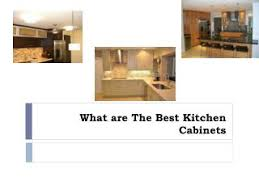 What Are The Best Kitchen Cabinets Ppt Why Are Fabuwood Cabinets One Of The Best Options For The
