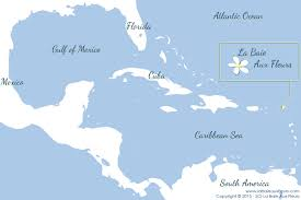 Cuba South America Map by La Baie Aux Fleurs St Barth Bukten Blommor St Barth The