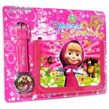 masha medved 7 kids watch wallet greatrussiangifts