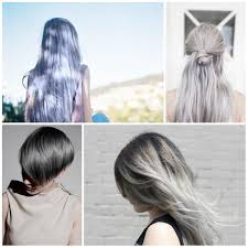 Grey Hair With Dark Highlights Stunning Grey Hair Color Ideas For 2016 2017 U2013 Page 3 U2013 Best Hair