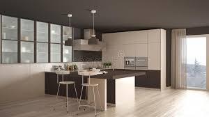 cuisine blanche parquet cuisine blanche et brune minimale classique avec le plancher de