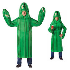 funny cactus mexican costume
