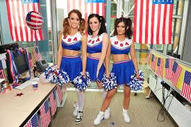 Cheerleader Flags Cheerleaders Flag Rosie Jones India Reynolds American Flag Emma