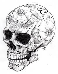 sugar skull designs binge thinking