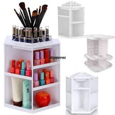 Cosmetic Cabinet 360 Rotating Makeup Organizer Drawers Cosmetic Jewelry Cabinet