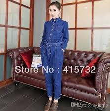 sleeve denim jumpsuit 2015 vintage sleeve denim jumpsuit and rompers for