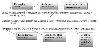westminster theological seminary anatomy of a bibliography