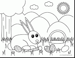 outstanding easter coloring pages with easter bunny coloring pages
