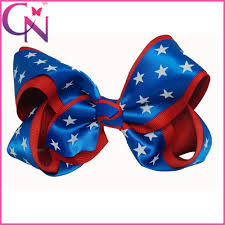 fourth of july hair bows 5 5inch newest 4th of july hair bows girl boutique hair bows