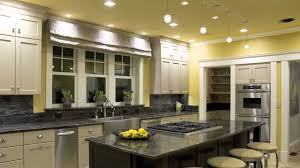 bright kitchen ideas bright kitchen lighting with granite countertop and white cabinet