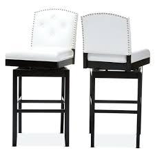 Restoration Hardware Bar Stool Bar Stools Black And White Upholstered Bar Stools Restoration