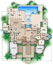 colonial style house plan 5 beds 5 50 baths 13601 sq ft plan 27 464