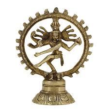Sculpture For Home Decor by Details Zu Tanzender Shiva Nataraja Statue Aus Messing O Bronze