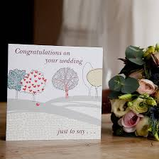 Congratulations Marriage Card Congratulations On Your Wedding U0027 Card By From You To Me