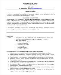 Sample Pharmaceutical Resume by Download Microbiologist Resume Sample Haadyaooverbayresort Com