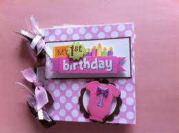 baby girl scrapbook album baby s birthday scrapbook album baby girl
