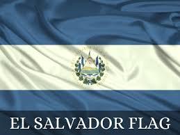 Salvadoran Flag El Salvador By John Honeycutt