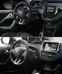 peugeot 3008 2015 interior 2015 peugeot 208 vs peugeot 208 old vs new