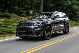 jeep grand cherokee gray jeep grand cherokee trackhawk 2018 review autocar