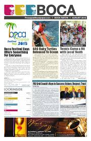 the boca raton pineapple august 2015 by four story media group issuu