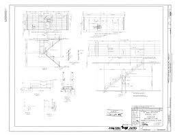 file original drawing mezzanine and ceiling framing at elevators