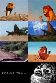 The Lion King Meme - omg the lion king is real