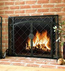 found object panel fireplace screen created maid moon studio we