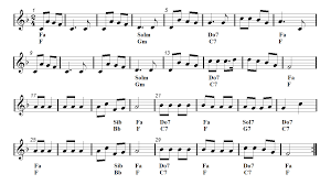 recorder christmas song jingle bells sheet music guitar