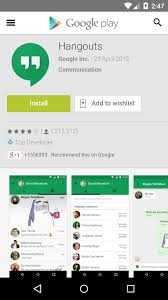 hangouts app android android how to open the hangout app from a hangout url displayed