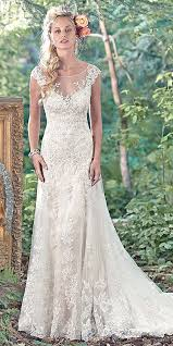 Lace Wedding Dresses A Line Lace Wedding Dress New Wedding Ideas Trends