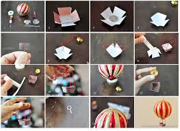 how to make a air balloon ornament 3 steps with pictures