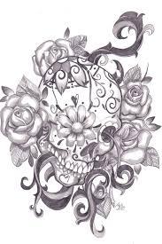 sugar skull designs inspiration from folk pixel77