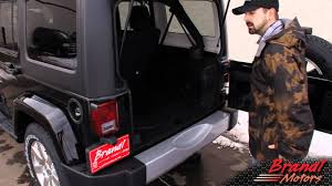 jeep bed in back rear in floor storage 2012 jeep wrangler unlimited brandl media