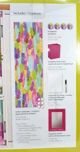 Magnetic Locker Wallpaper by New Wall Pops Locker Organization Decoration Kits Pink