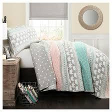 Elephant Print Comforter Set Elephant Stripe Quilt Bedding Set Target
