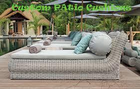 Replacement Outdoor Sofa Cushions Outdoor Furniture Patio Cushions Custom Made U0026 Manufacture