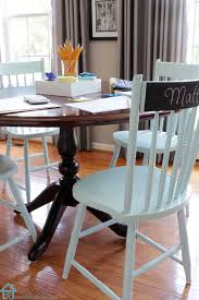 How To Paint Wooden Chairs by How The Breakfast Room Has Evolved Nice Colors And Painted Chairs