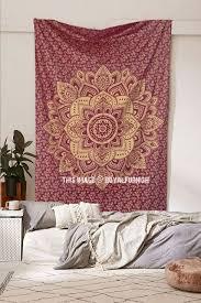 Wall Tapestry Hippie Bedroom Hippie Tapestries Mandala Bohemian Tapestries U0026 Bedspreads