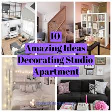 10 amazing ideas decorating studio apartment coo architecture