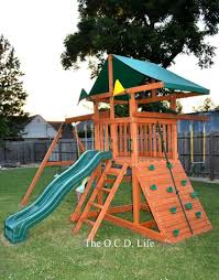 Lowes Swing Exterior Enchanting Landscape Design With Appealing Wood Gorilla
