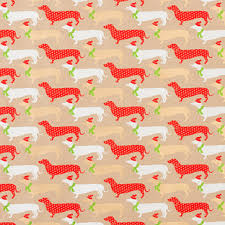 dachshund christmas wrapping paper wrap embossed silver brocade wrapping paper sheets the