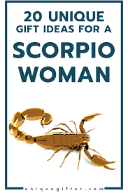 gifts for a woman 20 gift ideas for a scorpio woman unique gifter